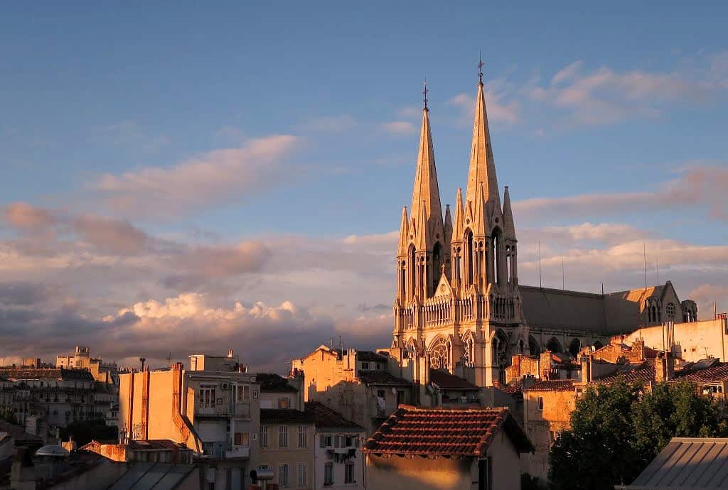 Une «sono de confinement» pour l'église Saint-Vincent-de-Paul à Marseille